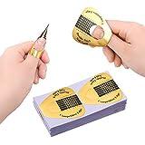 Xinzistar - 100 piezas de formas de uñas con forma de uñas para uñas, pegatinas de alargamiento de ...