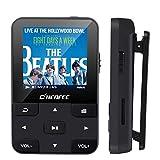 CFZC Lecteur MP3 Bluetooth 4.2 16Go Lecteur Baladeur avec Pince, Podomètre,...