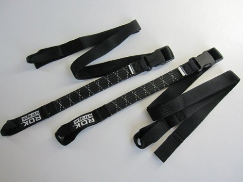 ROK straps (ロックストラップ) MCストレッチストラップ BK-REFLECT. ROK00050
