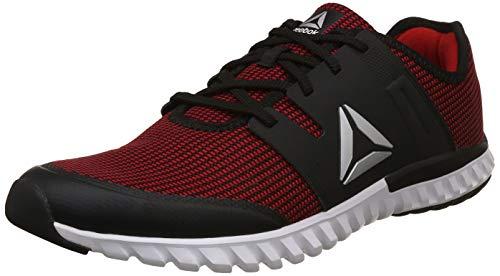 Reebok Men's Twist Run 1 Shoes-9 UK/India (43 EU) (CN1954-9-RED/GRAVEL/METSIL/WHT/BLK)
