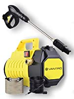 TOTAL STOP SYSTEM (TSS): Vantro High Pressure Washer features safety automatic total stop system (TSS), which automatically shuts off the pump when trigger is not engaged to save energy and prolong pump life. INNOVATIVE DESIGN: At Vantro, It took yea...