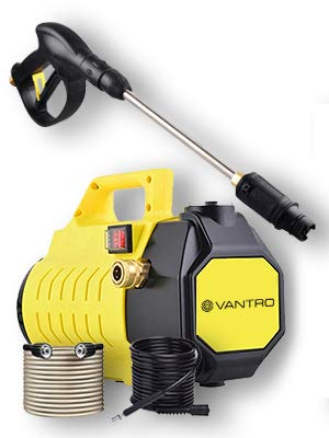 Vantro High Pressure Washer with Induction Motor 1800-Watt with 2 Year Warranty