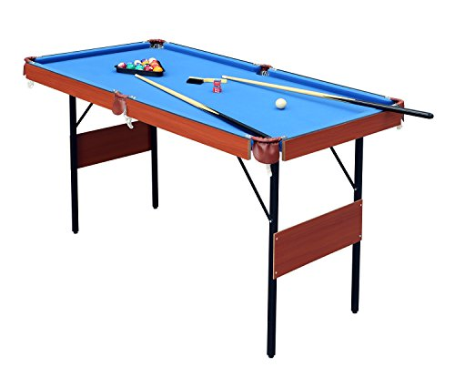 hlc Klappbar 140 * 74 * 80 cm Billiardtisch Pooltisch Snooker Tischspiel