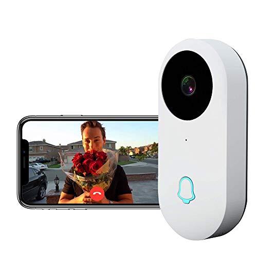 Campanello Video Wireless, WIFI Intelligente Camera, 960 P HD Telecamera Sorveglianza Domestica,Con IP65 Sensore Movimento Bidirezionale E Visione Notturna,Cloud Disponibile,APP Per Ios E Android