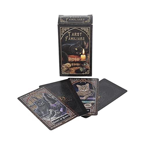 Nemesis Now Lisa Parker Familiar Tarot Cards 12cm Black