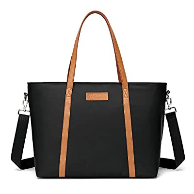 Please pay specially attention to the size of the product (this is an extra large laptop tote and can hold up to 15.6 inch laptop)?-the specific size is Bottom length*bottom width*height=16 x 7 x 13 inches, handle drop 10 inch. We noticed that somebo...