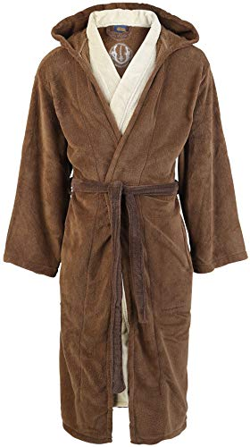 Peignoir chaud Star Wars style Jedi, Polaire, brown-beige, Standard