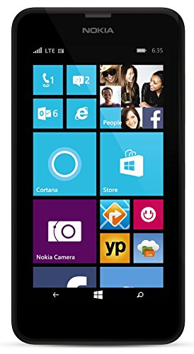 Nokia Lumia 635 No Contract GoPhone with Primary Camera Expandable Memory Smartphone 1