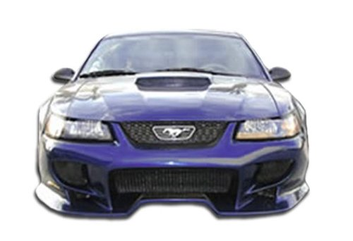 Brightt Duraflex ED-HVJ-978 Vader Front Bumper Cover - 1 Piece Body Kit - Compatible With Mustang 1999-2004