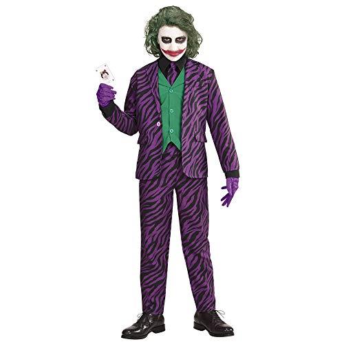 Widmann-Evil Joker Costume per Bambini, Multicolore, (164 cm / 14-16 Anni), 19319