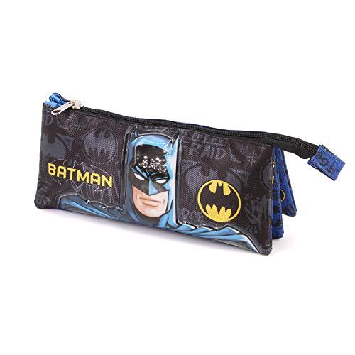 Karactermania Batman Knight-Dreifach Federmppchen Astuccio, 23 cm, Multicolore (Multicolour)