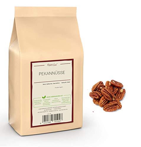 1kg Pekannüsse halbe Kerne - hochwertige Pecannüsse, unbehandelt und ohne Zusätze