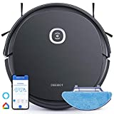 ECOVACS DEEBOT OZMO U2 Pro Robot Vacuum Cleaner 2 in1 Vacuum and Mop, Extra Pet Care Kit 800ml Large Dustbin & Tangle-Free Brush, Ideal for Pet Hair, No-Go Zones, 2.5Hrs Run Time, Voice / App Control