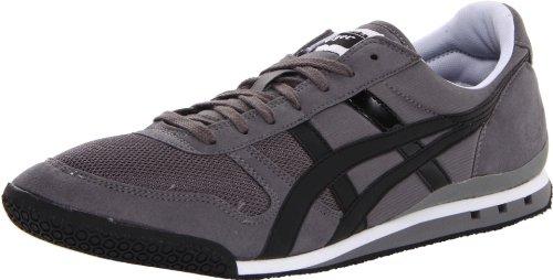 Onitsuka Tiger Men's Ultimate 81 Fashion Sneaker, Charcoal/Black, Men's 12.5