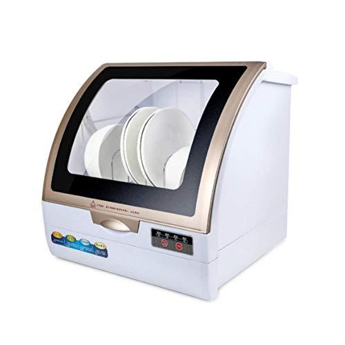 ZJYX Lavastoviglie da Tavolo, Automatiche ad Uso Domestico Piccolo Desktop Indipendente...