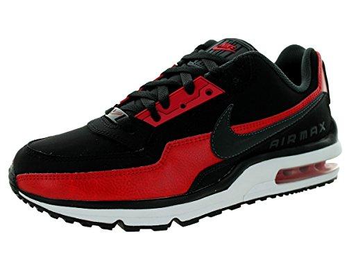 Nike Men s Air Max LTD 3 Running Shoe Black/Anthracite/Gym Red 8.5 D(M) US