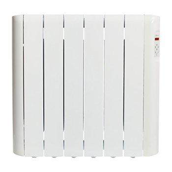 Haverland RCE6S - Emisor Térmico Digital Fluido Bajo Consumo, 900 de Potencia, 6 Elementos, Programable, Exclusivo Indicador De Consumo