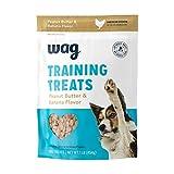 Amazon Brand - Wag Peanut Butter & Banana Flavor Training Treats, 1 lb. Bag (16 oz)
