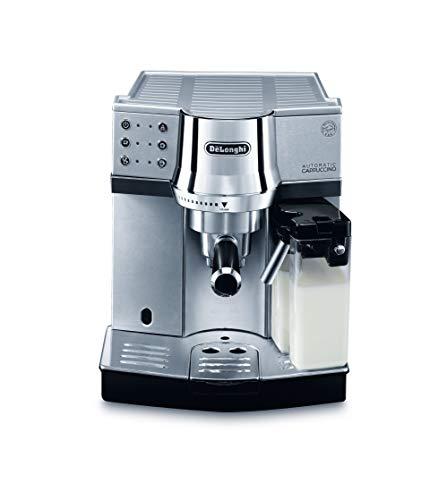 De'Longhi EC850.M Macchina per caffè Espresso a Pompa, 1450 W, 2 Cups, Acciaio Inossidabile, Silver