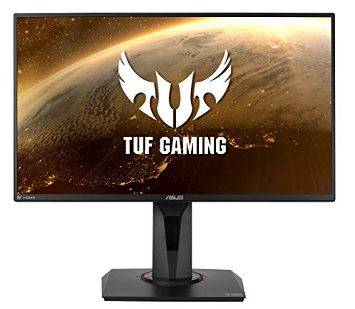 ASUS TUF Gaming VG258QM Gaming Monitor – 24.5 inch Full HD (1920x1080), 280Hz*, 0.5ms (GTG), Extreme Low Motion Blur Sync, G-SYNC Compatible, DisplayHDR 400