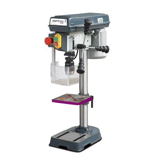 Optimum 058OP8141 Trapano da banco Modello B14-capacit Foratura Acciaio  14 mm, 350 W, 230 V