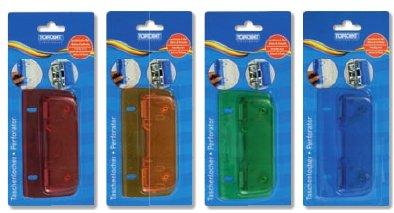 10 Taschenlocher Mini Locher mit Linealfunktion