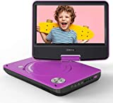 """COOAU 11"""" Portable DVD Player, Support Power Bank Charging, Last Memory Function, Region Free,..."""