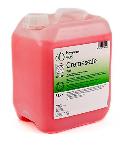 Hygiene VOS Liquid Hand Soap pH neutro Uso quotidiano. Formula extra morbida e biodegradabile Pacchetto economico da 5 litri adatto a tutti i tipi di erogatori