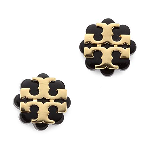 Packaged in a Tory Burch gift pounch Signature logo with a flower background