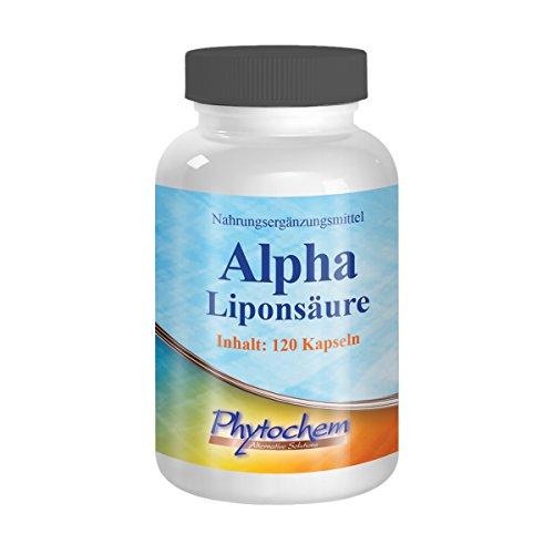 ALPHA LIPONSÄURE | 500 mg reine Alphaliponsäure pro Kapsel | 120 Kapseln | Premium Qualität aus Deutschland