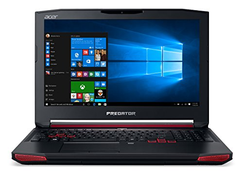 Acer Predator G9-591-75EJ Laptop, Processore Intel Core i7-6700HQ, RAM 16GB, 256GB SSD, Display da 15.6' IPS FHD, Scheda Grafica Nvidia GeForce GTX 970M, Nero