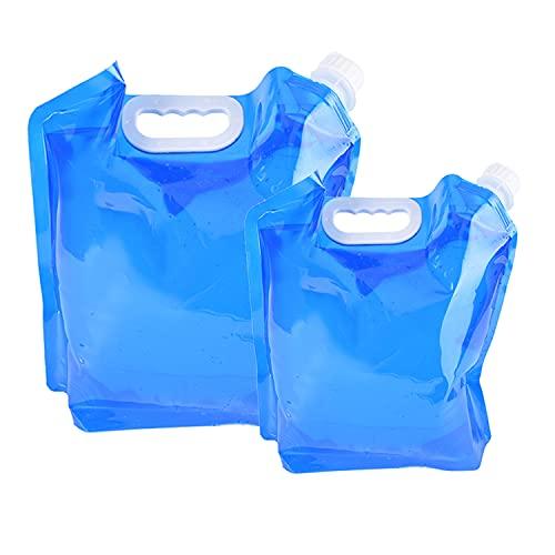 2Bidones de Agua Plegables de 5L y 10L