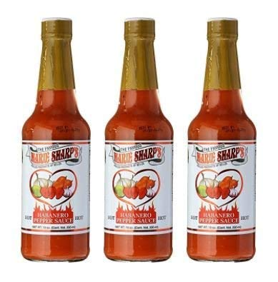 🌶️ SPICY AND FLAVORFUL HOT SAUCE - Marie Sharp's Habanero hot sauce provides a balanced flavor that compliments every dish. What's more, our specially-blended spicy sauce is not just pure heat; it even has a touch of sweetness due to the carrot compo...
