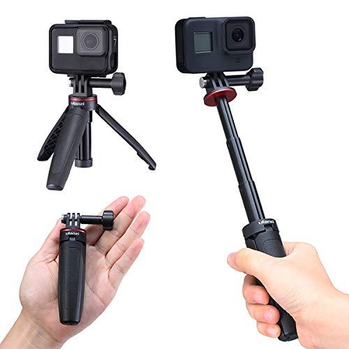 ULANZI MT-09 GoPro Vlog, impugnatura e bastone per selfie per foto e video