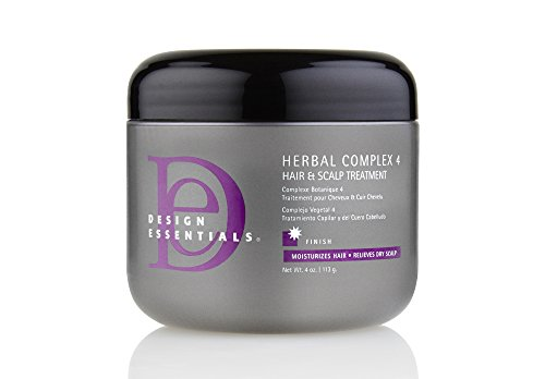 Design Essentials Herbal Complex 4 Hair & Scalp Treatment - 4 Oz