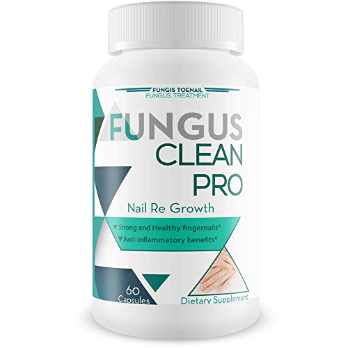 Fungus Clean Pro - Nail Re Growth - Fungal Damage Recovery Blend - Strong and Healthy Nails - Anti Inflammatory Benefits - Restore Strong, Clear, and Thick Nails - Vitamin and Mineral Nail Blend