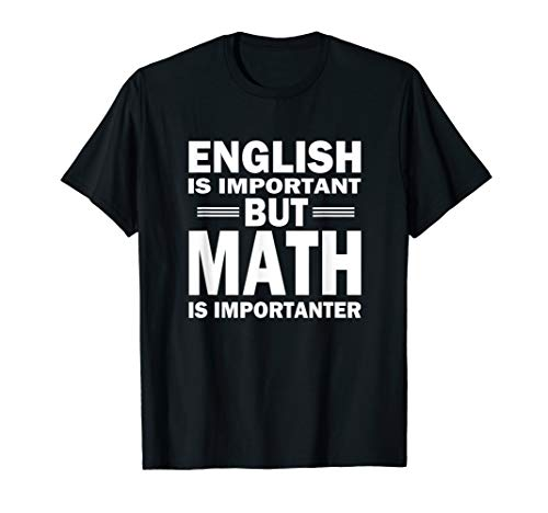 Funny Math Science Nerd Teacher Gift Idea Birthday T-Shirt