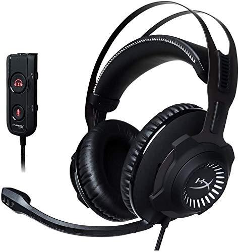 HyperX Cloud Revolver S ゲーミングヘッドセット 7.1ch Dolby USBオーディオコントロールボックス付属PS4/...