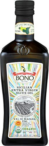 Bono Val di Mazara Sicilian PDO Organic Extra Virgin Olive Oil, 16.9 Fl Oz
