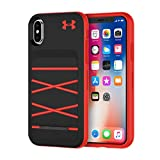 Under Armour UA Protect Arsenal Case for iPhone Xs & iPhone X - Black/Red