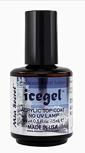 Mia Secret Professional - Ice Gel Acrylic Top Coat - No UV Lamp Need it