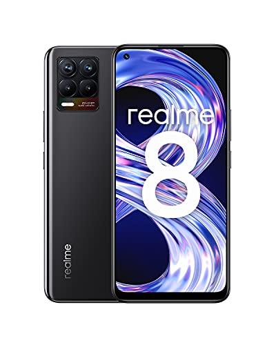 Realme 8 - Smartphone 64GB, 4GB RAM, Dual Sim, Cyber Black