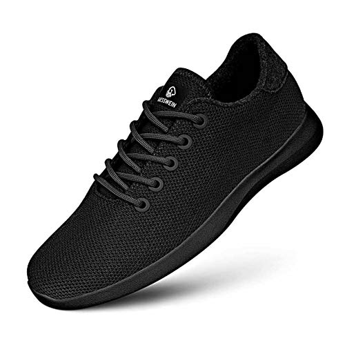 GIESSWEIN Merino Wool Knit Men - Atmungsaktive Sneaker für Herren aus 100{8a3a3605a0444377e95fe76ba9d68825ea75aefb0eddc33a902bfc602ddf0227} Merino Wolle, Sportliche Barfußschuhe, Freizeitschuh, Herrenschuhe, Schuhe
