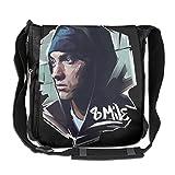 Eminem Herren - Bolso de hombro para hombre y mujer de gran capacidad
