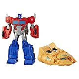 Transformers Cyberverse - Robot Action Optimus Prime Ark Power Camion - 30cm -...