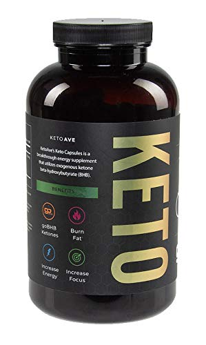 Bulk Size - Keto Ave All Natural Ketone Supplement Pills | Reach Optimal Ketosis in Your Ketogenic Diet 1