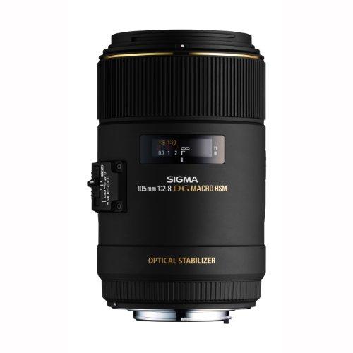 SIGMA 単焦点マクロレンズ MACRO 105mm F2.8 EX DG OS HSM キヤノン用 フルサイズ対応 258542