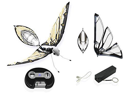 MetaFly Upgrade Kit . By Bionic Bird . DRONE INSETTO Elettronico Biomimetico Radiocomandati con Accessori Aggiuntivi . Vola al chiuso e all'aperto
