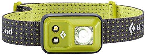 Black Diamond Cosmo Headlamp Grass / Outdoor Stirnlampe mit Rotlicht und Dimmfunktion / Batteriebetrieben, max. 200 Lumen