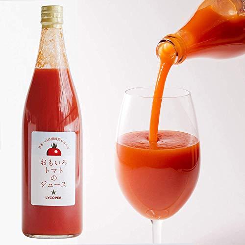 高糖度おもいろトマトのトマトジュース トマト100% 水・食塩・糖類等は一切不使用 無添加 食塩無添加 無塩 ...